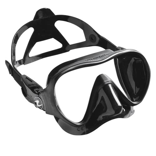 Clear//White Artic Single Lens Dive Mask Aqua Lung Ventura